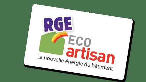 rge eco artisan, label, certification, bâtiment, énergie, isolation
