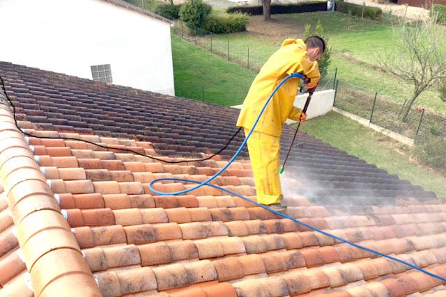 Nettoyage de toiture Saint-Florent-des-Bois