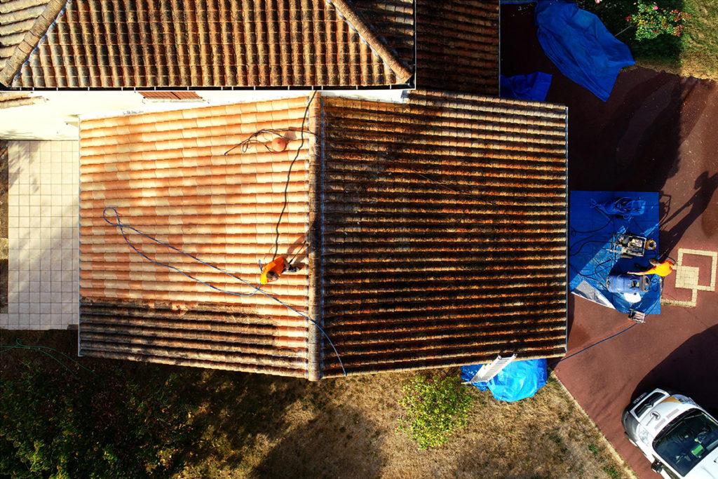 Traitement de toiture La Verrie
